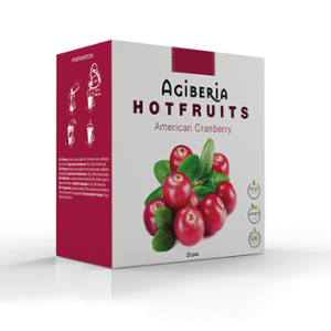 Agiberia Hotfruits American Cranberry 25x20g